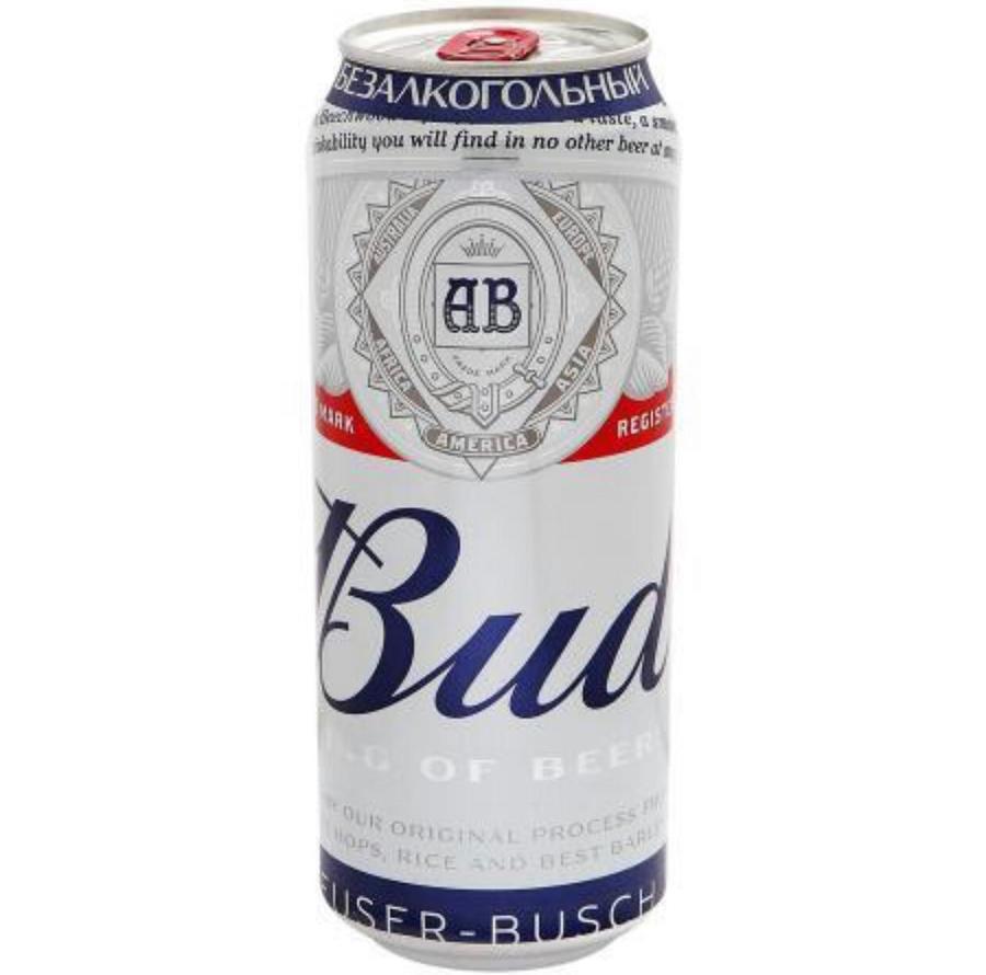Bud безалкогольный