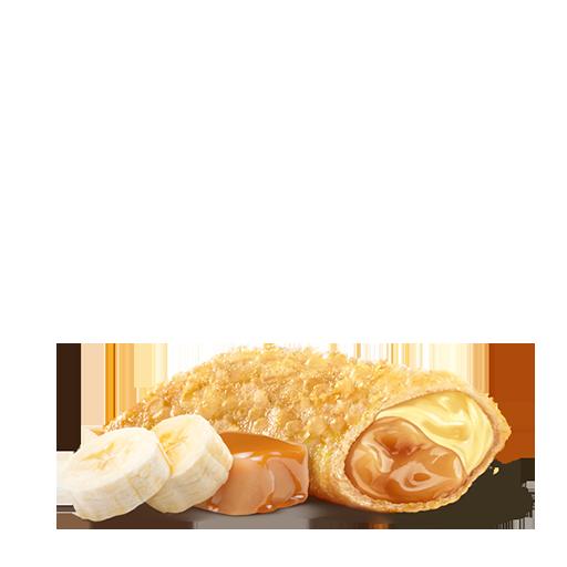 Пирожок Банан-Карамель